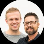 Dominik Seeberger und Marcus Wölfel